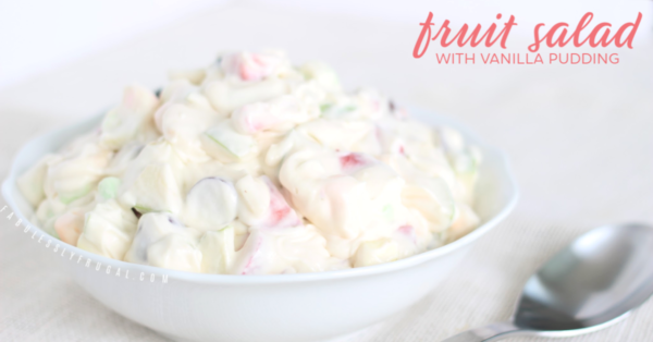 Cool whip fruit salad dessert