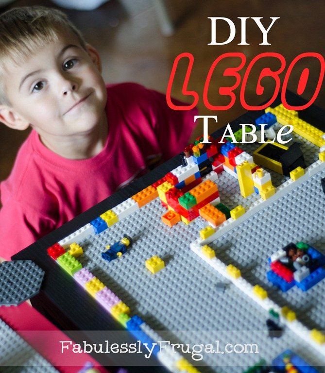 DIY Lego Table {Picture Tutorial}
