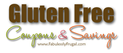 gluten free coupons and savings
