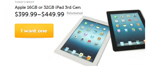 ipad woot deals
