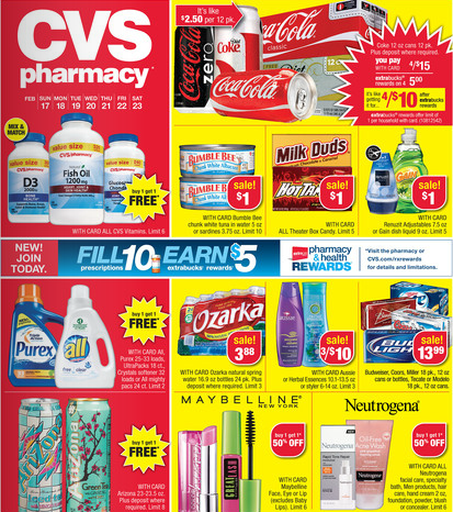 CVS Coupon Deals February 17-23, 2013