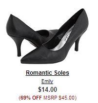romantic soles pumps