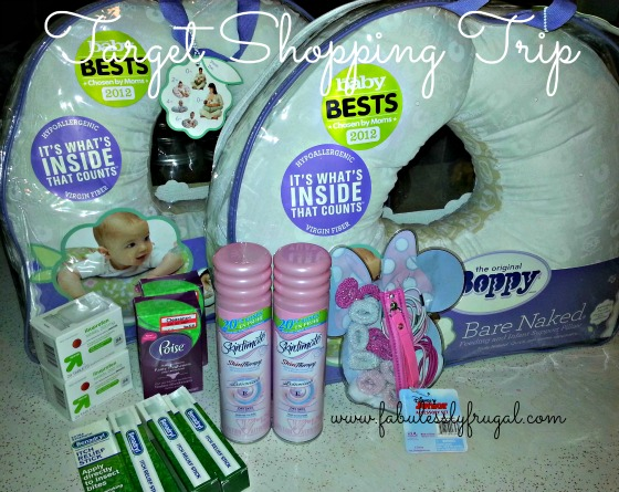 Target Shopping Trip: 60% Savings On Boppy, Benadryl and More!