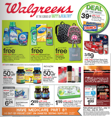 Walgreens July 14-20, 2013