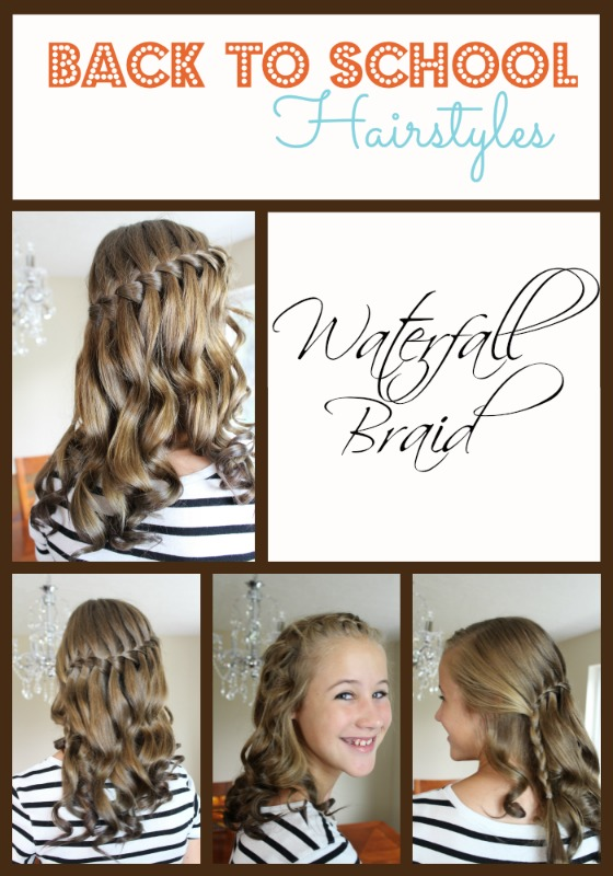 Easy Back School Hairstyles