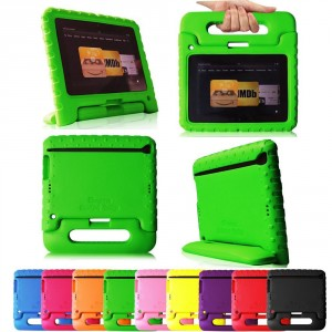Fintie (Green) Casebot Kiddie Series Light Weight Shock Proof Handle Case for Kids Specially made for Kindle Fire...