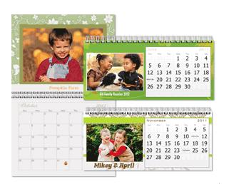 Photo Calendar from vistaprint