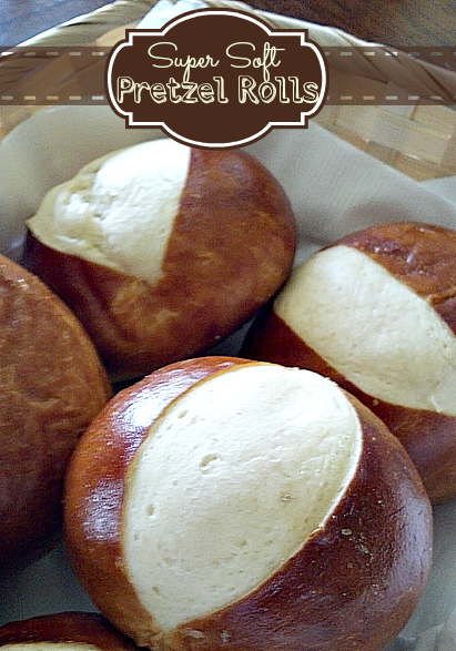 Super Soft Pretzel Rolls Recipe