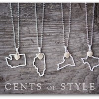 cents of style custom state necklaces