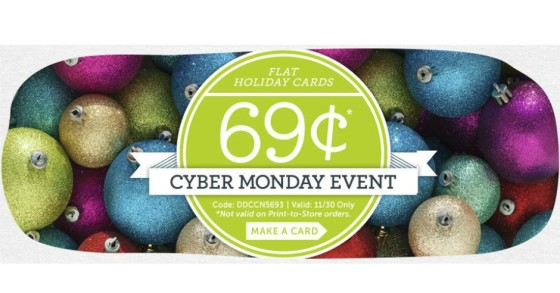 Card store Cyber Monday 2105 deals