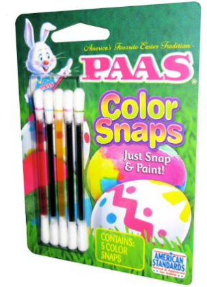 Paas color snaps