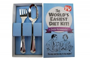 Big Mouth Toys World's Easiest Diet Gag Gift Kit