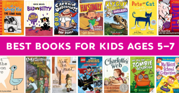 best books for kids ages 5-7