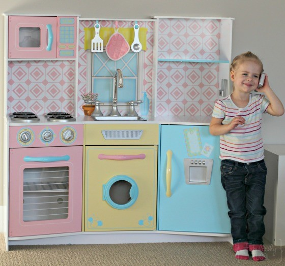 kidkraft pastel kitchen from costco