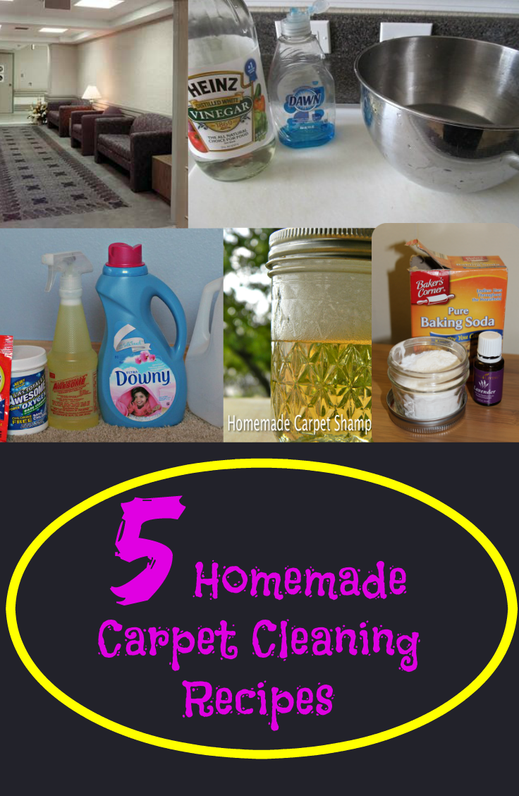 5 homemade carpet cleaning recipes fabulessly frugal. Black Bedroom Furniture Sets. Home Design Ideas