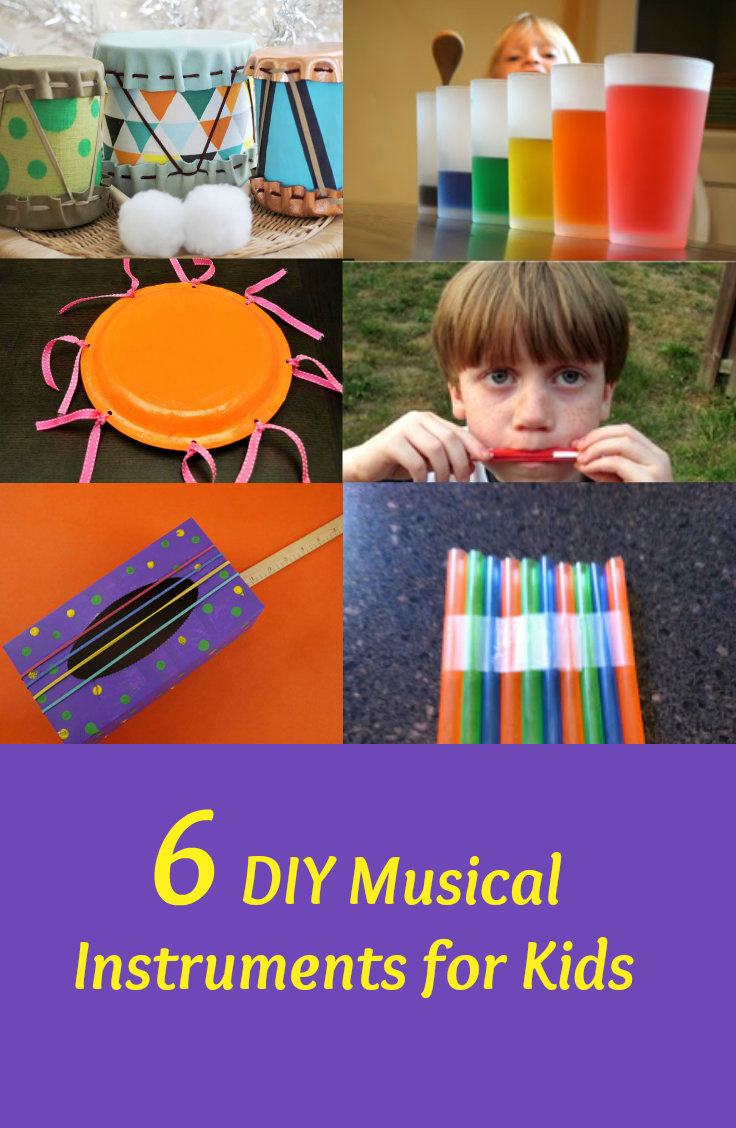 6 Diy Musical Instruments For Kids Fabulessly Frugal