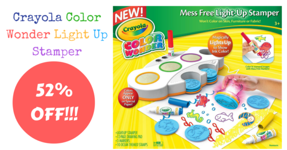 Crayola Color Wonder Mess Free Light-Up Stamper