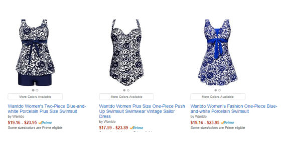 Womens Wantdo Swimsuits