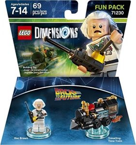 Amazon: Back to the Future Doc Brown Fun Pack – LEGO Dimensions only $2.93 (reg $14.99) + More!!!