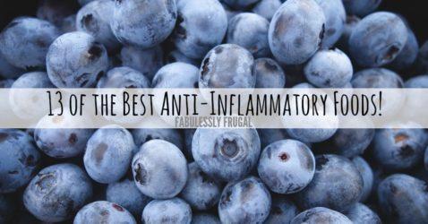 Best anti-inflammatory foods list
