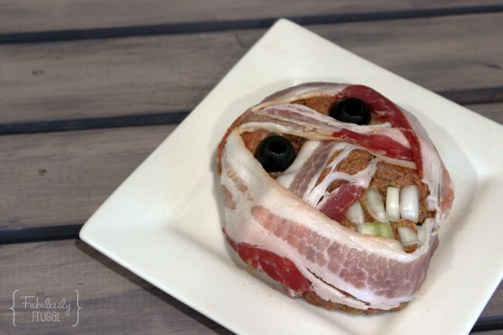 mummy meatloaf fun Halloween dinner tradition