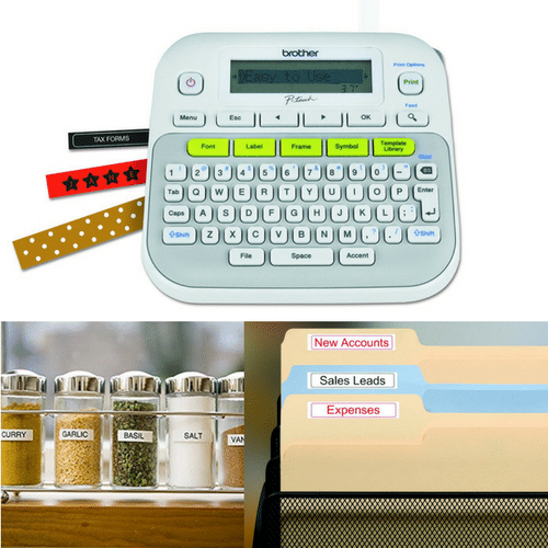 Amazon brother p touch label maker reg for Brother label printer templates