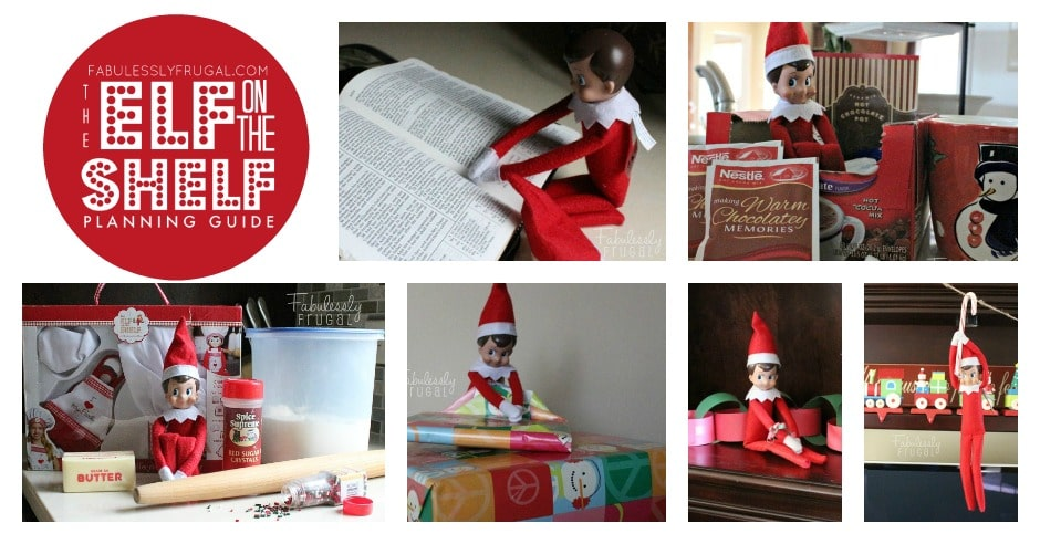 Elf on the Shelf Ideas and Planning Guide takes all the hassle out of this fun tradition
