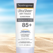 Amazon: Neutrogena Ultra Sheer Dry-Touch SPF 85 Sunscreen Lotion as low...
