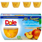 Amazon: 24 Cups Yellow Cling Diced Peaches, No Sugar Added as low as $10.51...