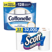 {{GONE}} Amazon: Toilet Paper Is In Stock Now! 24 Rolls Cottonelle Ultra...