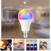 Amazon: 4-Pack Smart WiFi Light Bulb That Work with Alexa, Google Home...